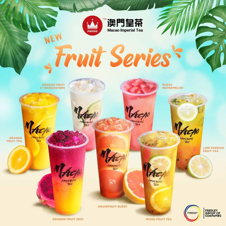 New Macao Imperial Tea Fruit Series