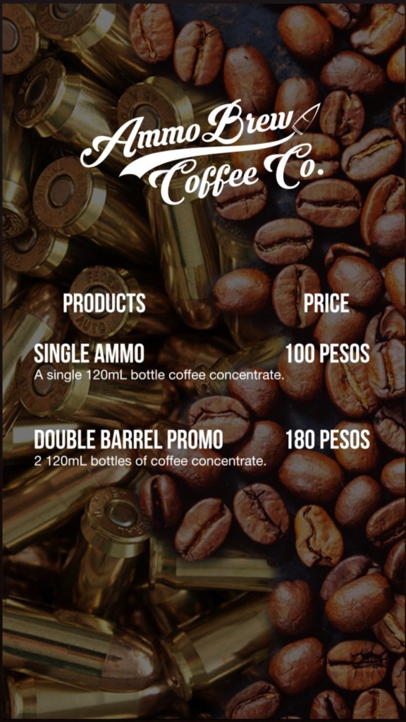 AMMO Brew Coffee Co. Menu