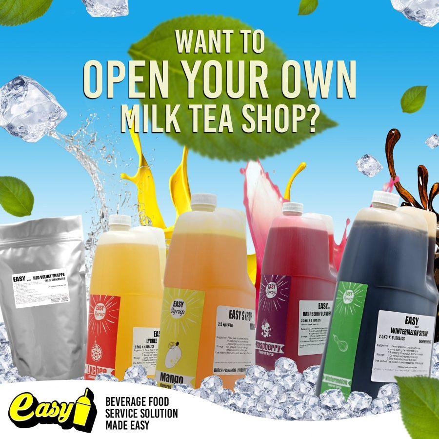Easy Brand Philippines Milk Tea Supplier