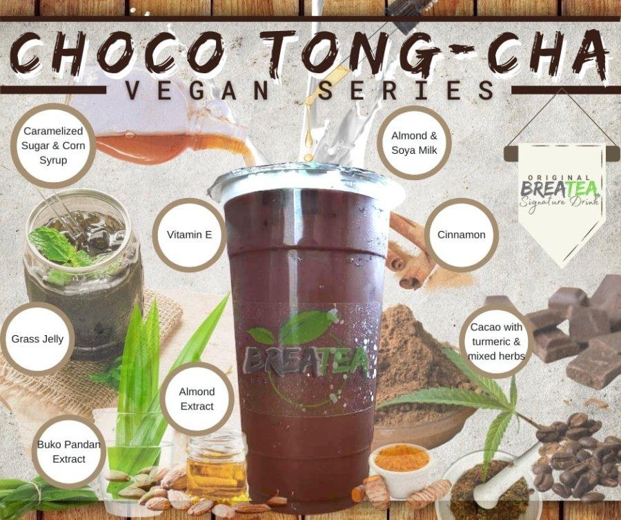 BreaTea Choco Tong Cha Vegan Series