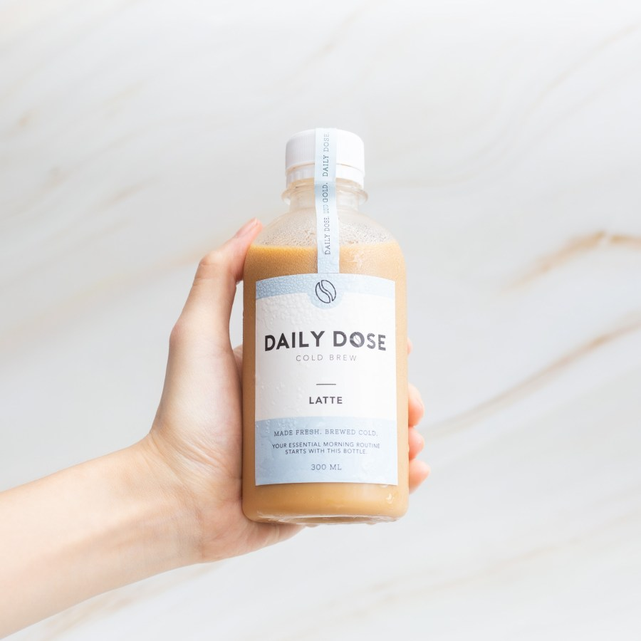 Daily Dose Trading Cold Brew Latte