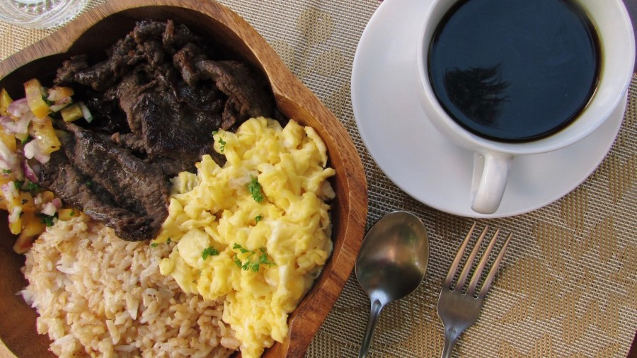 El Kapetan Coffee Trading Black Coffee with Food
