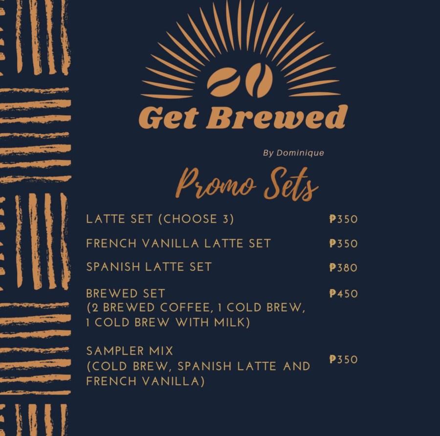 Get Brewed Promo Sets