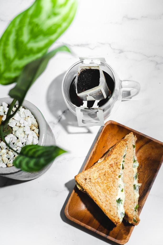 Grace & Grind Coffee and Spinach Toast