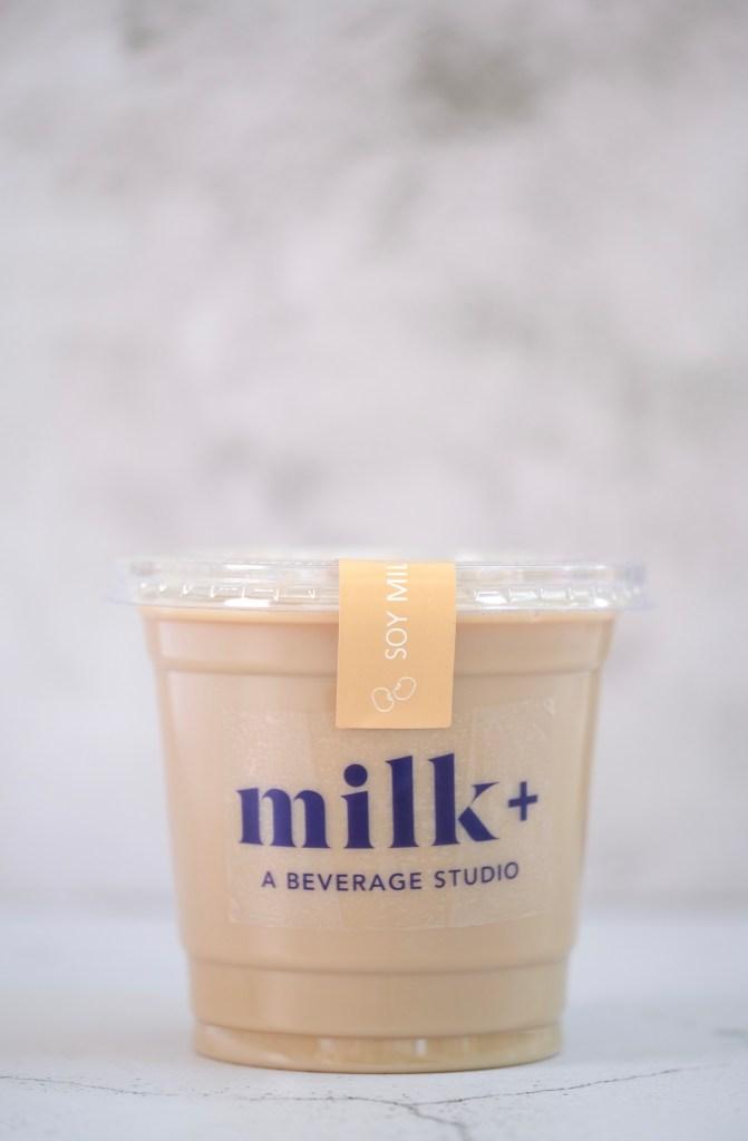 Milk Plus Studio Soy Latte