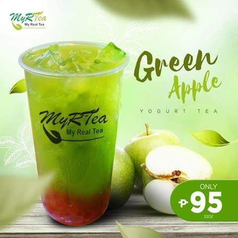 Myrtea Milktea House Green Apple