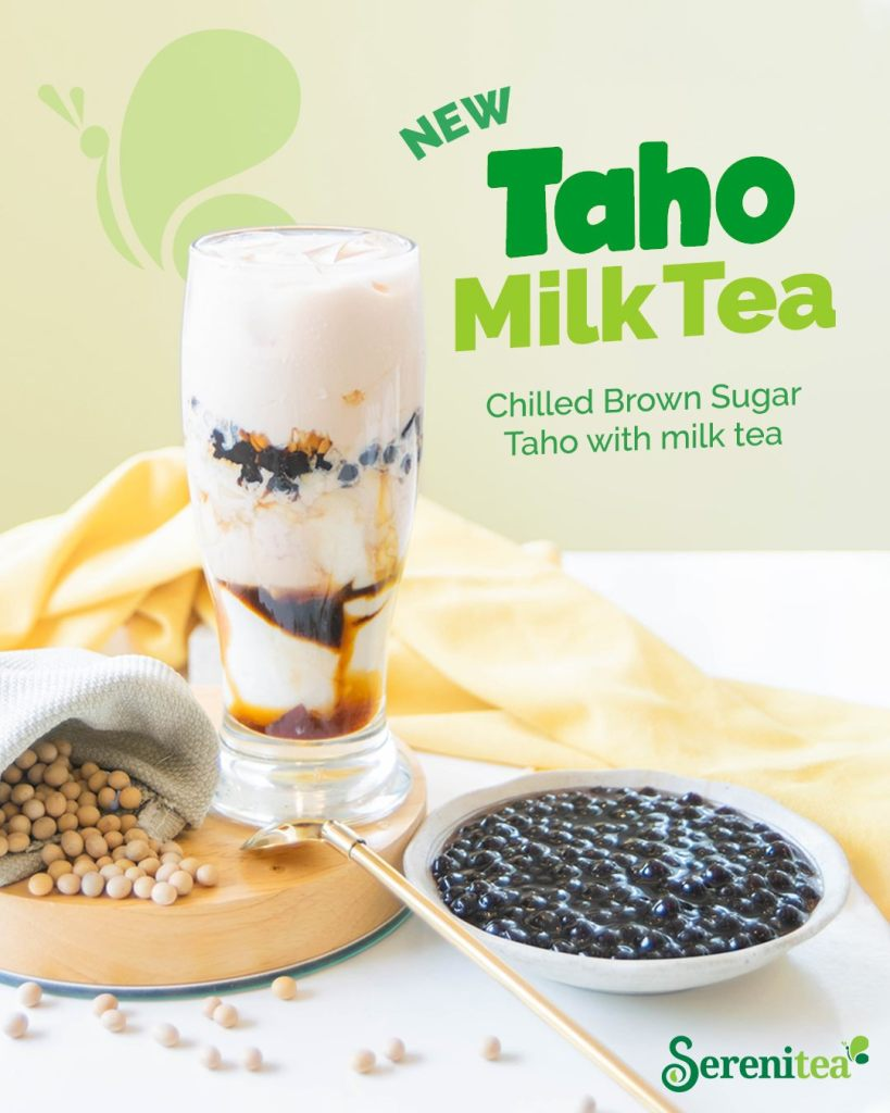 Serenitea Taho Milk Tea