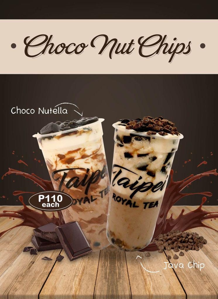 Taipei Royal Tea Choco Nut Chips