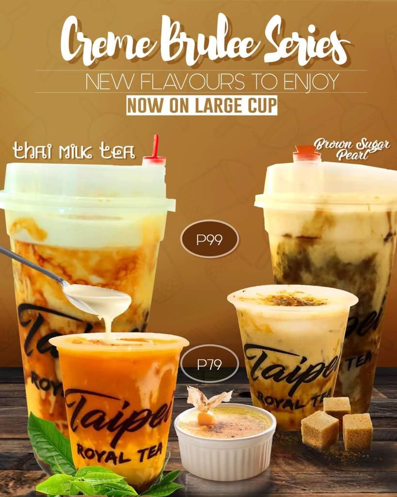 Taipei Royal Tea Creme Brulee Series