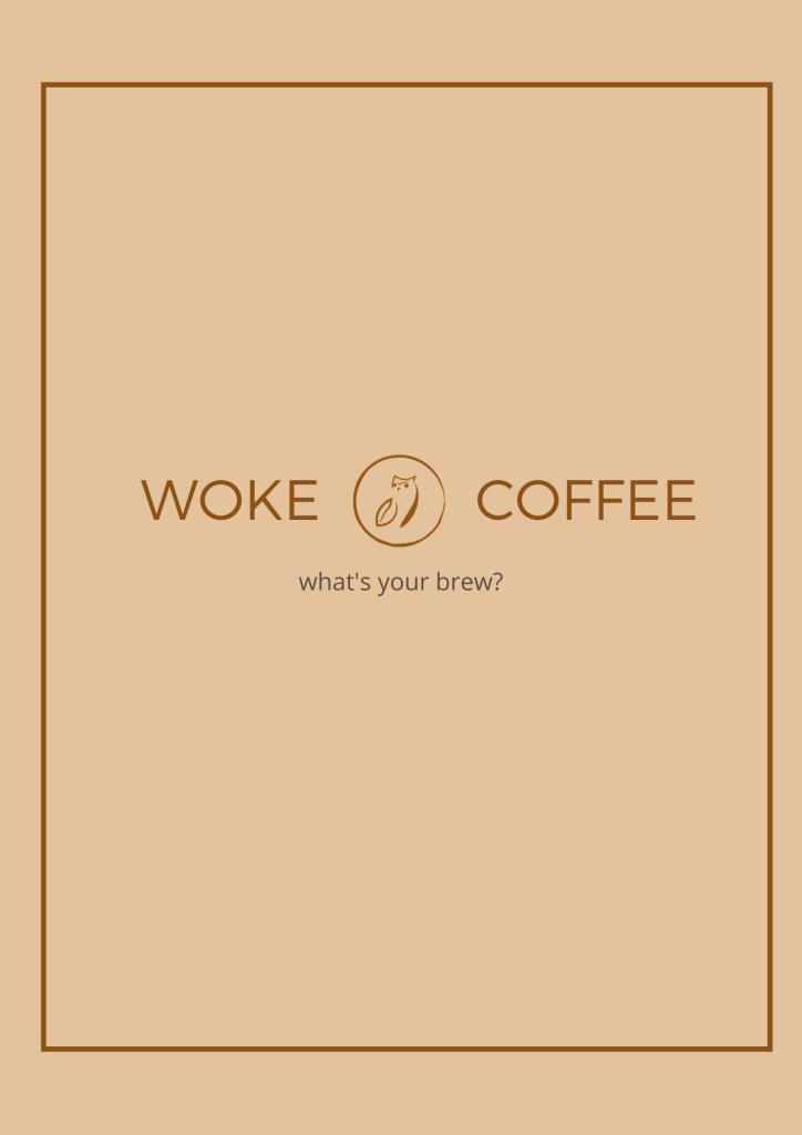 Woke Coffee Menu