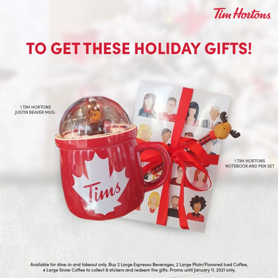 Tim Hortons Holiday Gifts