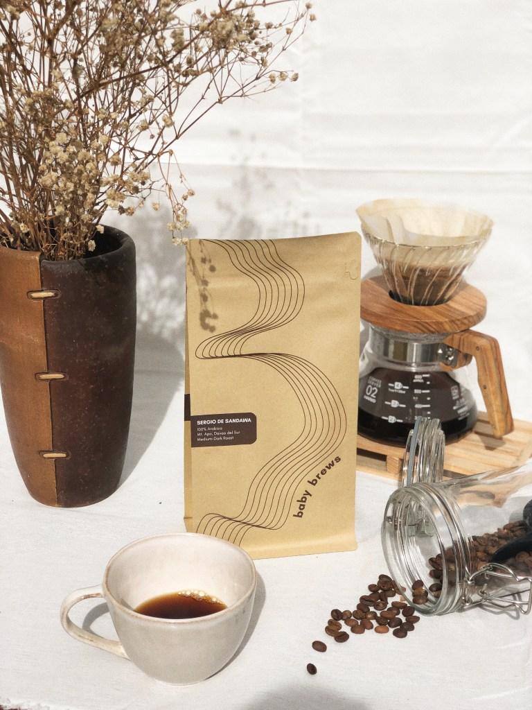 Baby Brews Packaging Coffee