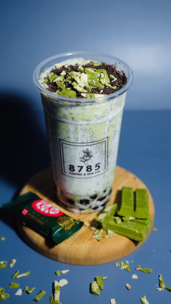 8785 Coffee & Tea Co. Matcha Kitkat Flavored Drink
