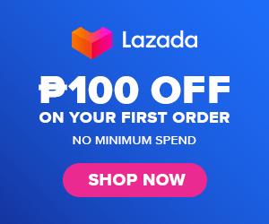 Lazada 100 pesos OFF