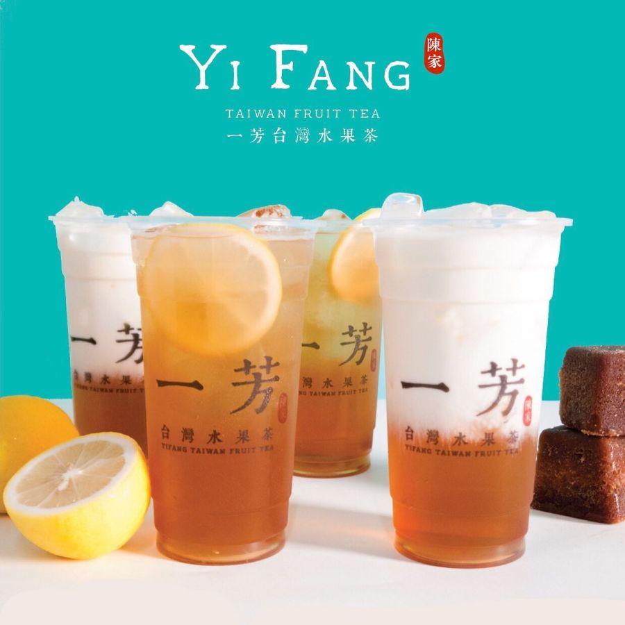 Yi Fang Best Selling Fruit Tea Flavors