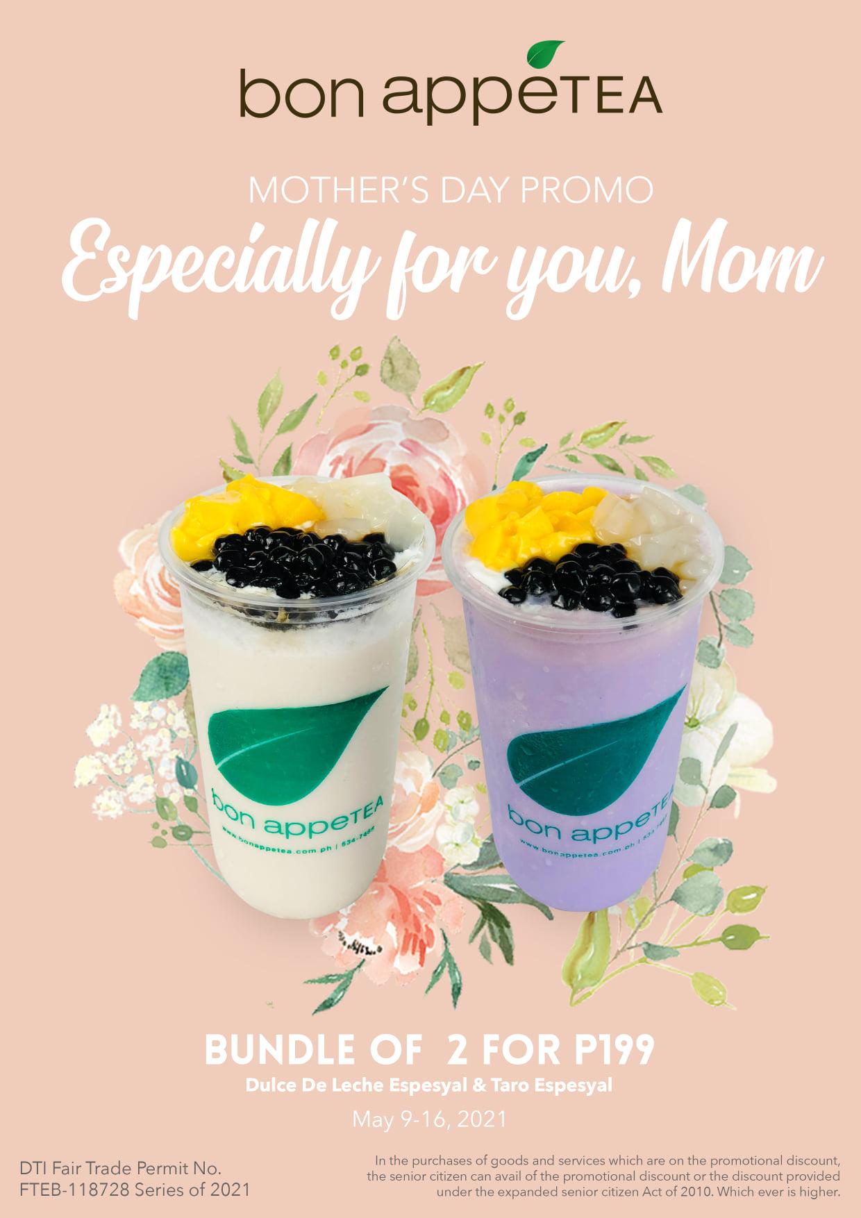 Bon Appetea Mother's Day Promo