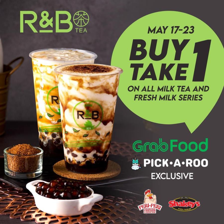 Buy 1 Take 1 R&B Tea Milk Tea