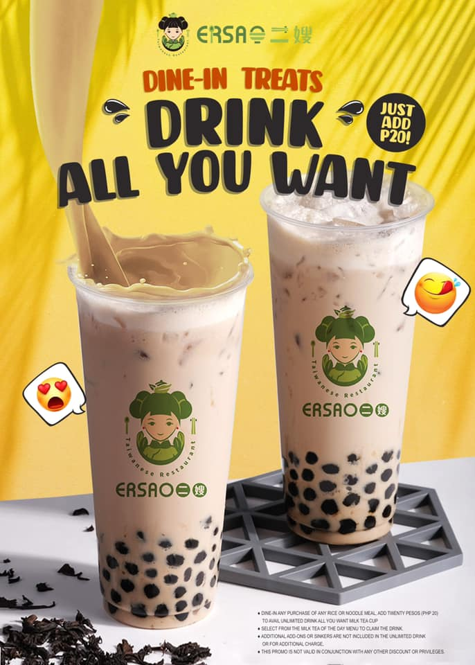 Ersao Drink All You Can Promo