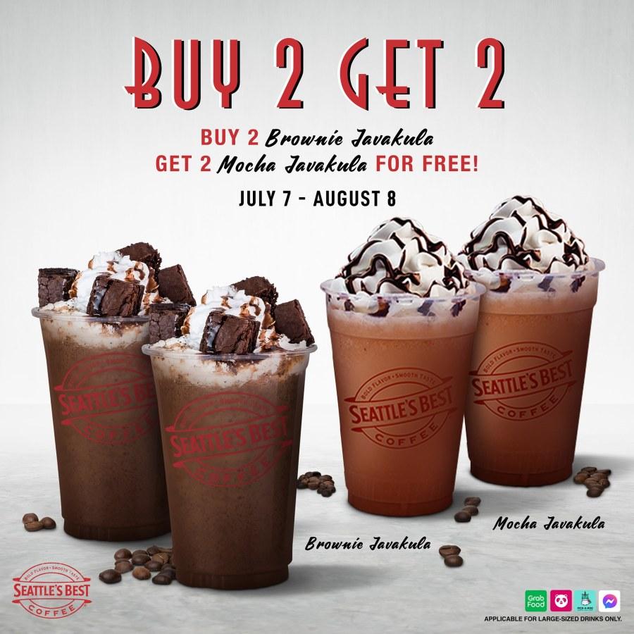 Seattle's Best Coffee Philippines Promo Buy 2 Get 2 Javakula