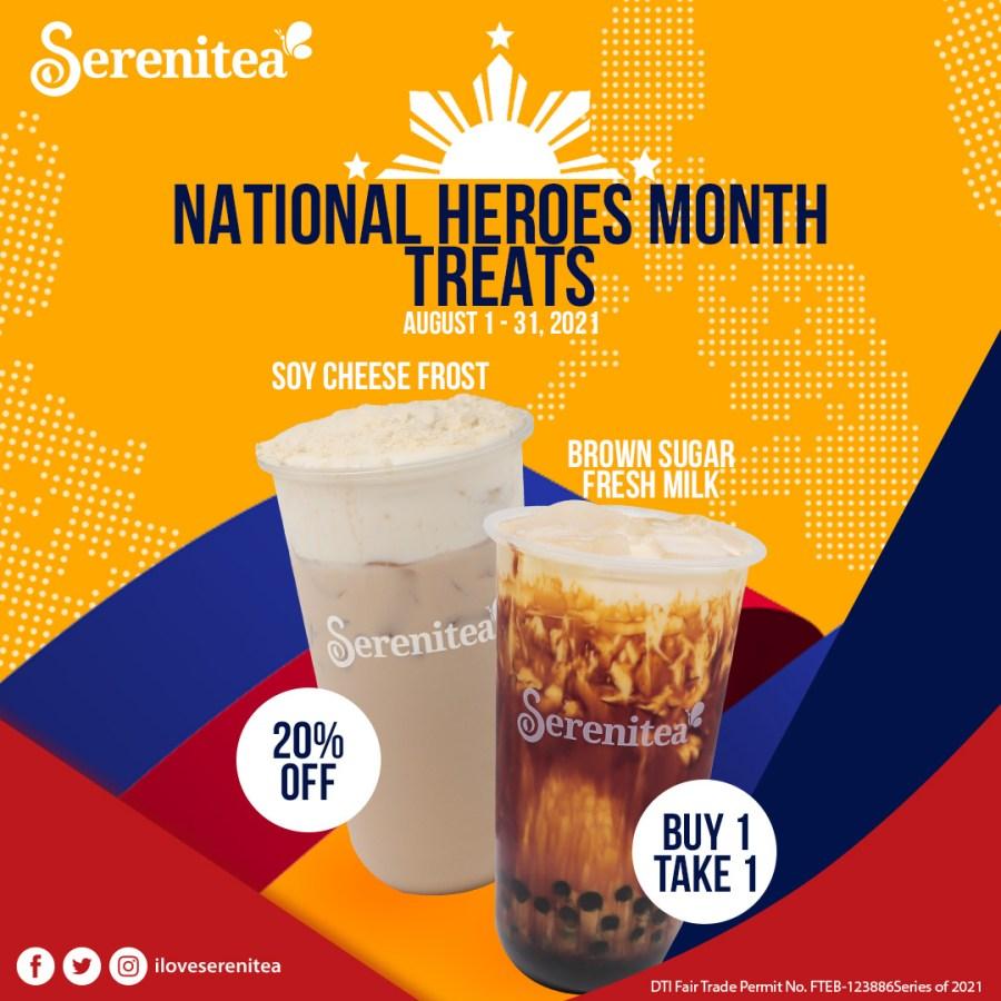 Serenitea National Heroes Month Promo 2021