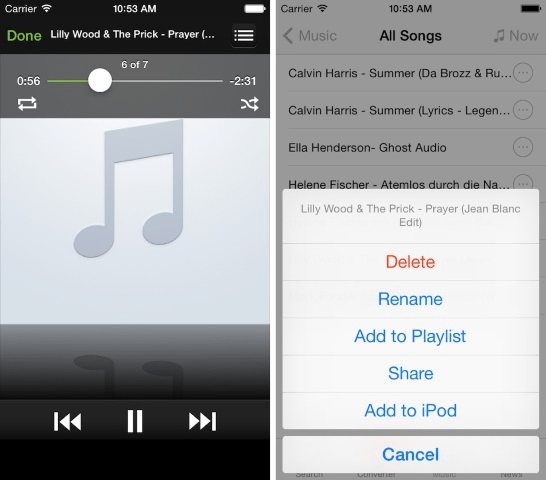 Download YouTube Videos As Audio MP3 Files On iPhone - CupertinoTimes