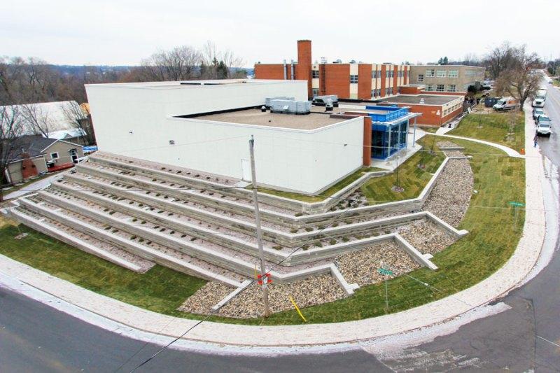 sydenham highschool construction