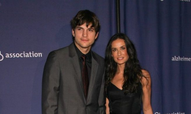 Cupid's Pulse Article: Celebrity Exes Ashton Kutcher & Demi Moore Attend Same Wedding