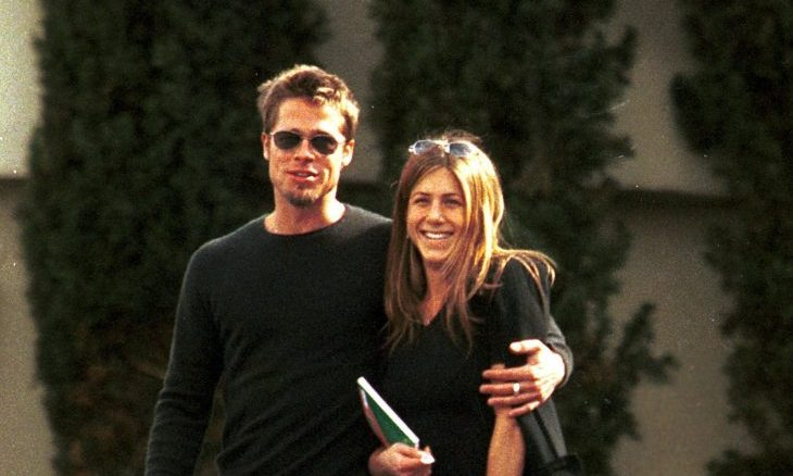 Cupid's Pulse Article: Celebrity Break-Up: Justin Theroux Found Post-Its from Brad Pitt During Jennifer Aniston Marriage