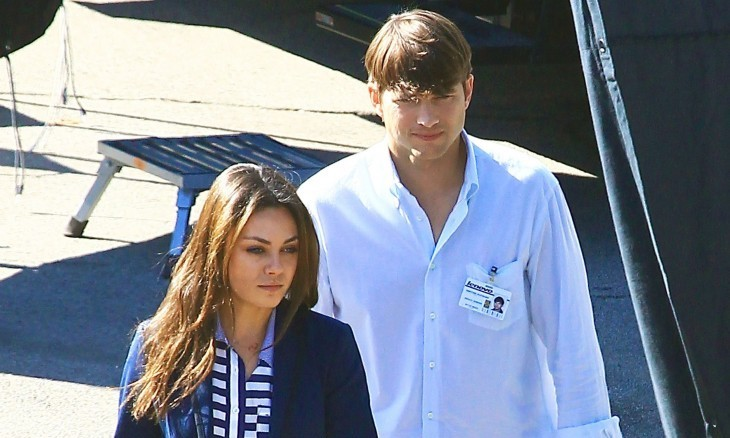 Cupid's Pulse Article: Celebrity News: Ashton Kutcher Recalls First Kiss On Camera with Mila Kunis