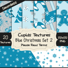 20 BLUE CHRISTMAS SET 2