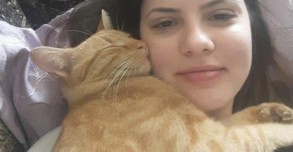semne ca pisica ta te iubeste
