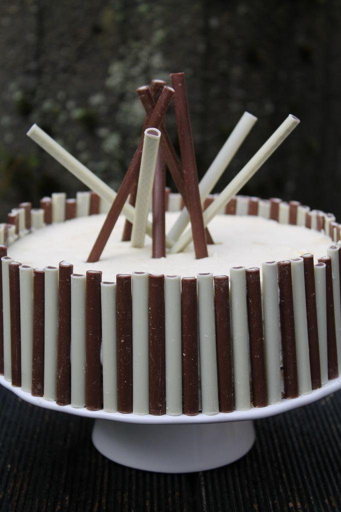 Weie SchokoladeTobleroneTorte ohne Backen  cuplovecake