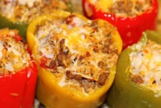 close up pepper