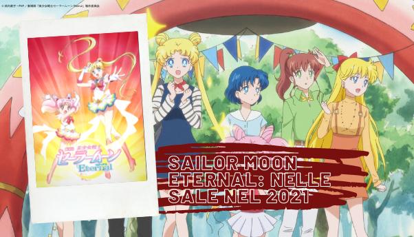 Sailor Moon Eternal: il film sequel in uscita a gennaio 2021