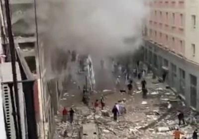 Madrid: forte esplosione in centro, almeno 3 vittime
