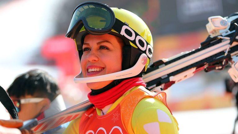 Forough Abbasi: la sciatrice iraniana che alle olimpiadi di Cortina ha fatto un appello ai diritti delle donne