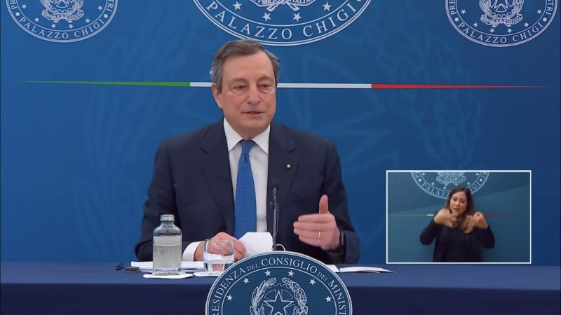 Draghi vs Erdogan: cos'è successo?