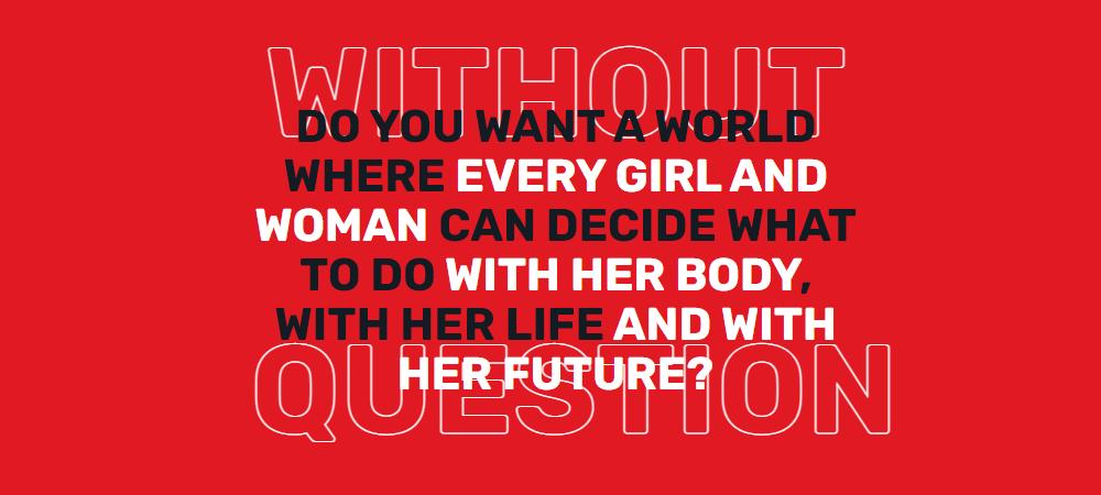"""""""She decides"""": il movimento per il diritto all'aborto a cui l'Italia non ha aderito"""