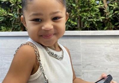 Stormi, la figlia di 3 anni di Kylie Jenner, potrebbe lanciare un suo brand