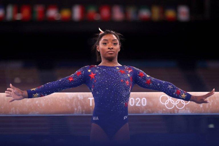 Simone Biles e il peso delle Olimpiadi: fare agonismo non è solo una passione