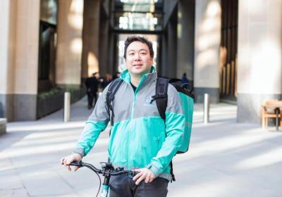 Boss in incognito: Will Shu, CEO di Deliveroo, testa il servizio