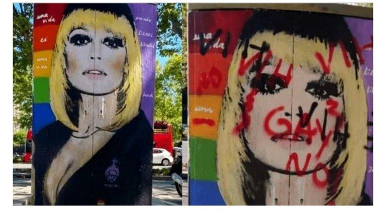 Raffaella Carrà nella bufera: dal murales vandalizzato alle fake news sul vaccino