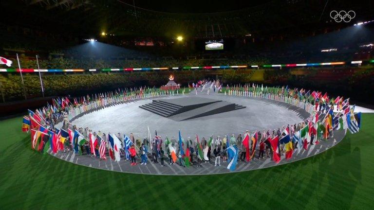 Cerimonia di chiusura: Olimpiadi 2020, grazie per tutti i successi