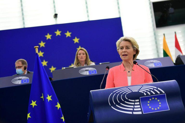Ursula von der Leyen: il discorso annuale della presidente della Commissione Europea