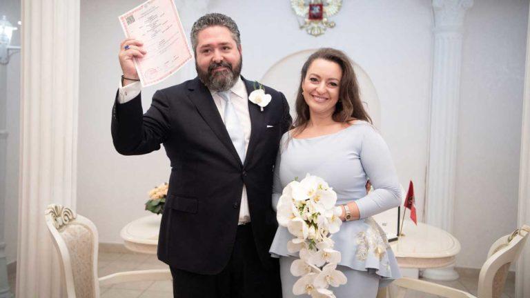 Royal Wedding in Russia: George Mikhailovich si sposa con Rebecca Bettarini