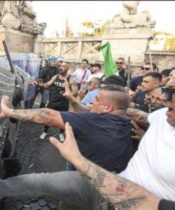 no-green-pass-fascisti-fascismo-roma