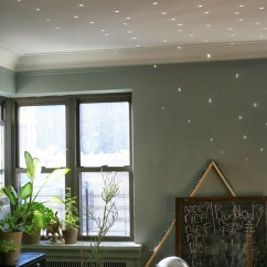 Living Room Decorating Pictures Decor With Leather Couch Home Tip: Disco Ball! | A Cup Of Jo