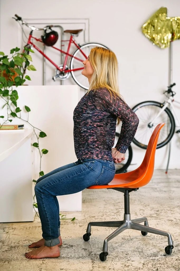 Six Stretches for People Who Sit at Desks  A Cup of Jo