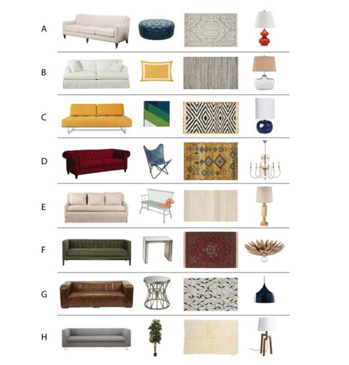 Home Decor Style Quizzes