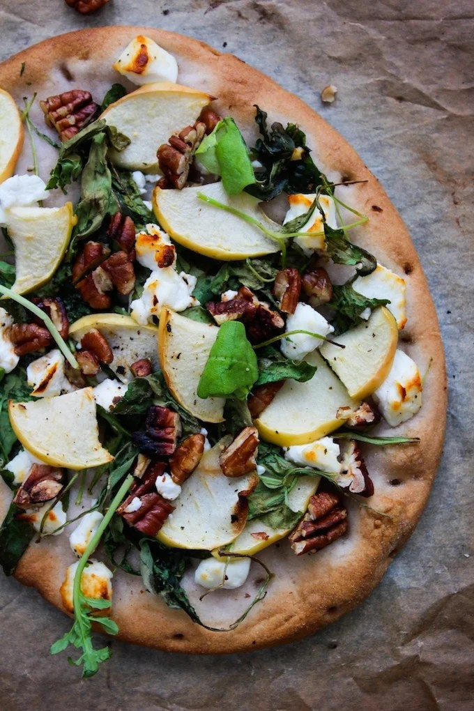 Apple And Goat Cheese Flatbread A Cup Of Jo